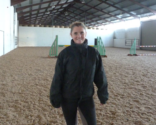 Laura-Riding-Instructor Highfield at Howe
