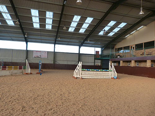 Highfield at Howe Riding lessons -Arena